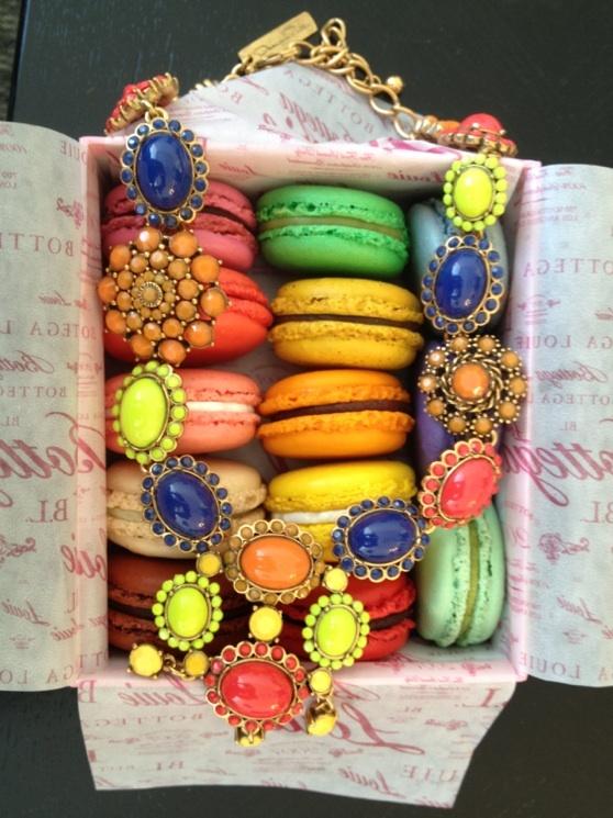 Color Stack Dessert | Linzeelu Thank You