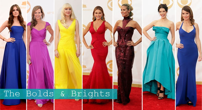 Emmys: Bolds & Brights | Linzeelu Thank You