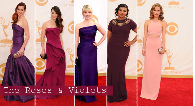 Emmys: Roses & Violets | Linzeelu Thank You
