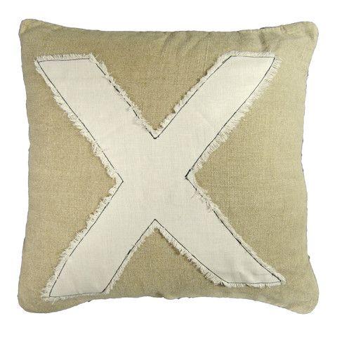 X Marks the Spot | X Pillow | Linzeelu Thank You