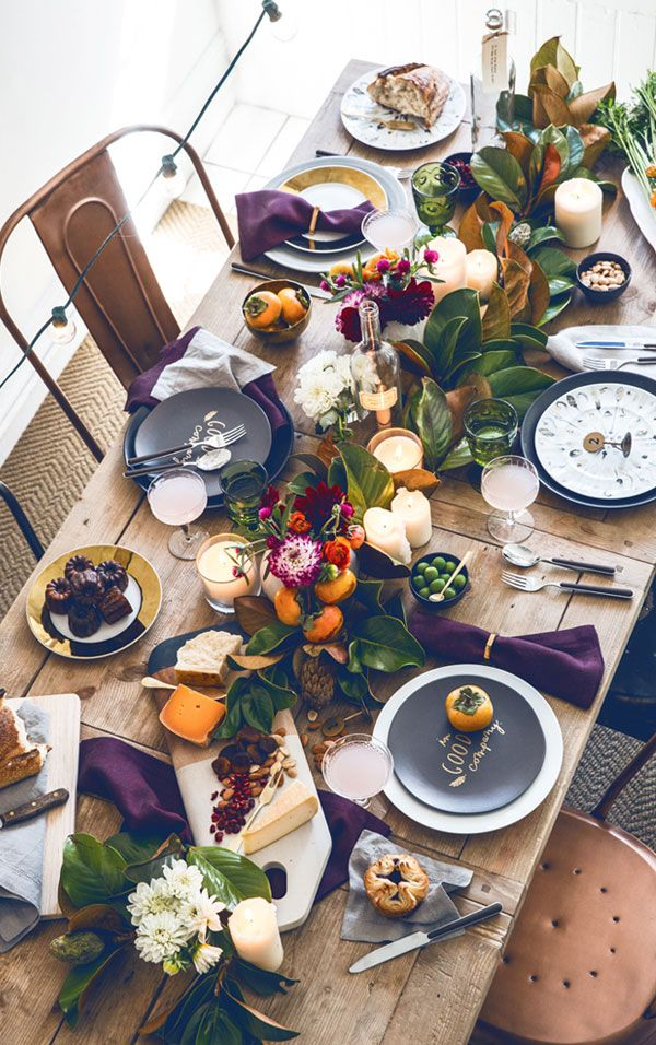 Table Top: Thanksgiving | Linzeelu Thank You
