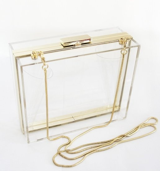 Clear Handbag | Linzeelu Thank You