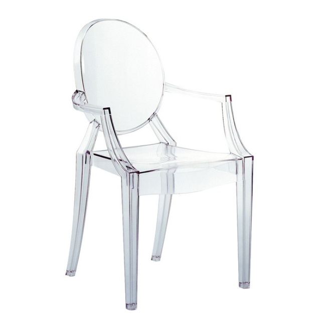 clear kartell ghost chair | Linzeelu Thank You