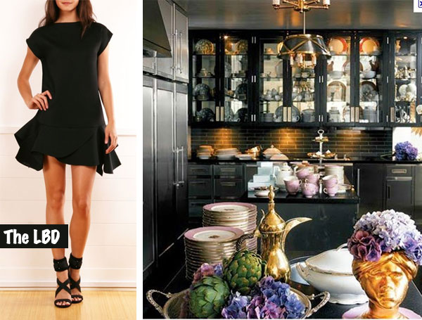 Fashion To Front Room: The LBD | Linzeelu Thank You