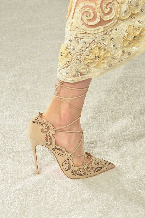Trendspotting | Laser Cut Pumps | Linzeelu Thank You