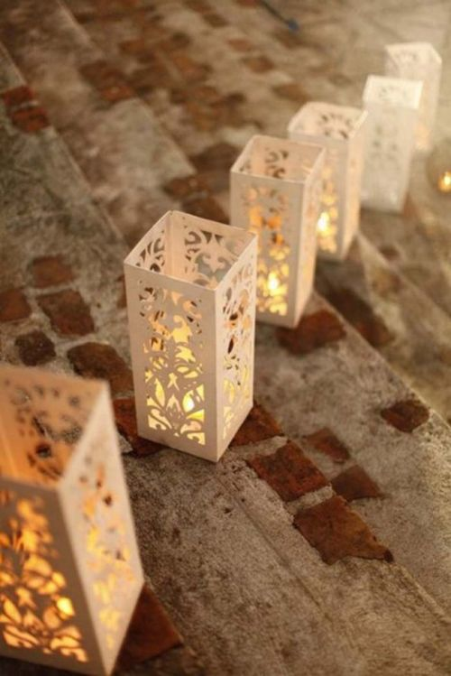 Trendspotting | Laser Cut Lanterns | Linzeelu Thank You