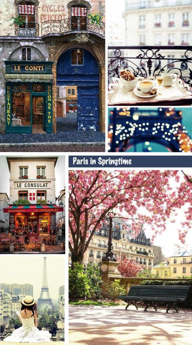 Wanderlust | Paris In Springtime | Linzeelu Thank You