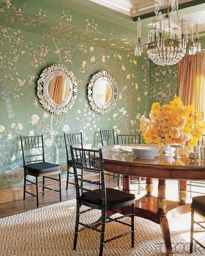 Wanderlust | Paris In Springtime Dining Room | Linzeelu Thank You